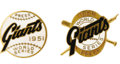 "Baseball Collectibles:Others, 1951 & 1954 World Series Press Pins (New York Giants) Lot of 2.One was given life by Thomson's ""Shot,"" the other remembere..."