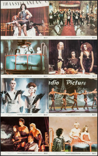 "The Rocky Horror Picture Show (20th Century Fox, 1975). Mini Lobby Card Set of 8 (8"" X 10""). Rock and Roll..."