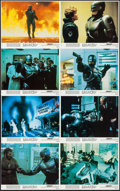 """Movie Posters:Action, RoboCop (Orion, 1987). Mini Lobby Card Set of 8 (8"""" X 10""""). Action.. ... (Total: 8 Items)"""