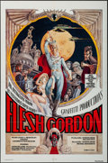 "Movie Posters:Sexploitation, Flesh Gordon (Mammoth Films, 1974). One Sheet (27"" X 41"").Sexploitation.. ..."