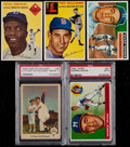 Baseball Cards:Lots, 1950's Topps and Fleer Baseball Star Collection (5). ...