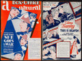 "Movie Posters:Drama, She Goes to War & Other Lot (United Artists, 1929). UncutPressbooks (2) (12"" X 17.75"", 11.5"" X 17.5""). Drama.. ... (Total: 2Items)"