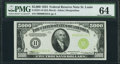 Small Size:Federal Reserve Notes, Fr. 2221-H $5,000 1934 Federal Reserve Note. PMG Choice Uncirculated 64....