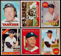 Baseball Cards:Lots, 1961-69 Topps Mickey Mantle Collection (6)....