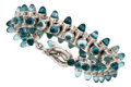 Estate Jewelry:Bracelets, Blue Topaz, White Gold Bracelet, Tamara Comolli. ...