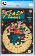 Golden Age (1938-1955):Superhero, Flash Comics #101 (DC, 1948) CGC NM- 9.2 Off-white to white pages....