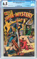 Golden Age (1938-1955):Horror, Super-Mystery Comics V6#3 (Ace, 1946) CGC FN+ 6.5 Off-whitepages....