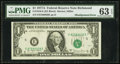 Error Notes:Shifted Third Printing, Fr. 1910-E $1 1977A Federal Reserve Note. PMG Choice Uncirculated 63 EPQ.. ...