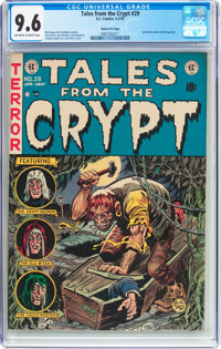 Tales From the Crypt #29 Gaines File Pedigree 11/12 (EC, 1952) CGC NM+ 9.6 Off-white to white pages