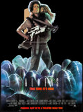 "Movie Posters:Science Fiction, Aliens (20th Century Fox, 1986). Standee (58.75"" X 84"") Advance.Science Fiction.. ..."