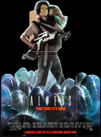 "Aliens (20th Century Fox, 1986). Standee (58.75"" X 84"") Advance. Science Fiction"