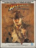"Movie Posters:Adventure, Raiders of the Lost Ark (Paramount, 1981). French Petite (15.5"" X21"") & Japanese Program (36 Pages, 8.5"" X 11.75""). Adventu...(Total: 2 Items)"