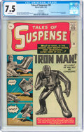 Silver Age (1956-1969):Superhero, Tales of Suspense #39 UK Edition (Marvel, 1963) CGC VF- 7.5 Whitepages....