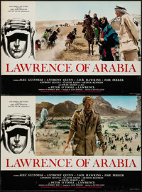 "Lawrence of Arabia (Columbia, 1962). Italian Photobusta Set of 8 (18"" X 26""). Academy Award Winners. ... (Tota..."