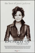"Movie Posters:Rock and Roll, Janet Jackson Album Posters (Various, 1990s). Album Posters (2) (18"" X 24"" & 20"" X 30""). Rock and Roll.. ... (Total: 2 Items)"
