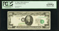 Error Notes:Shifted Third Printing, Fr. 2066-J $20 1963A Federal Reserve Note. PCGS Choice New 63PPQ.. ...