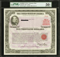 $10,000 United States Treasury Note Series J Due September 30, 1985 PMG About Uncirculated 50 EPQ