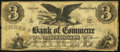 Obsoletes By State:Rhode Island, Providence, RI- Bank of Commerce in Providence $3 July 1, 1856. ...