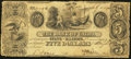 Obsoletes By State:Illinois, Kaskaskia, IL- Bank of Cairo at Kaskaskia $5 July 1, 1840. ...