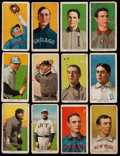 Baseball Cards:Lots, 1909-11 T206 White Border Collection (12) - With HoFer &Scarcer Brand. ...