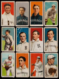 Baseball Cards:Lots, 1909-11 T206 White Border Collection (12) - With Johnson &Scarcer Brand. ...