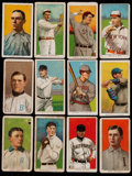 Baseball Cards:Lots, 1909-11 T206 White Border Collection (12) - With Mathewson. ...