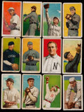 Baseball Cards:Lots, 1909-11 T206 White Border Collection (12) - With Mathewson &Scarcer Brand. ...