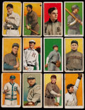 Baseball Cards:Lots, 1909-11 T206 White Border Collection (12) - With Young. ...