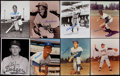 Baseball Collectibles:Photos, Dodgers Greats Signed Photographs Lot of 27....