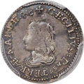 Colonials, (1659) 4PENCE Lord Baltimore Fourpence VF35 PCGS. CAC. Hodder 1-A, W-1010, R.6....