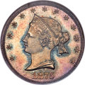 Patterns, 1875 20C Sailor Head Twenty Cents, Judd-1392, Pollock-1535, R.6, PR66 NGC....