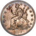 Patterns, 1870 $1 Dollar, Judd-1015, Pollock-1149, Low R.7, PR65 PCGS. CAC....