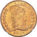 Early Eagles, 1804 $10 Crosslet 4, BD-1, High R.4 -- Improperly Cleaned -- NGC Details. Unc....