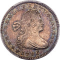Early Half Dimes, 1796/5 H10C V-2, LM-2, R.6, MS63 PCGS....