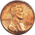 Proof Lincoln Cents, 1938 1C PR67 Red Cameo PCGS. CAC....