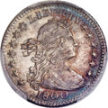 Early Half Dimes, 1800 H10C V-1, LM-1, R.3, MS63 PCGS....