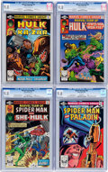 Modern Age (1980-Present):Superhero, Marvel Team-Up CGC-Graded Group of 4 (Marvel, 1981) CGC NM/MT9.8.... (Total: 4 Comic Books)