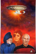 Original Comic Art:Covers, Keith Birdsong Star Trek: The Next Generation: VendettaPaperback Novel Cover Painting Original Art (Pocket Books,...