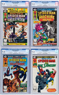 Modern Age (1980-Present):Superhero, Marvel Team-Up CGC-Graded Group of 4 (Marvel, 1980-81) CGC NM/MT9.8.... (Total: 4 Comic Books)