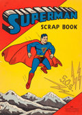 Memorabilia:Comic-Related, Superman Scrap Book #1503 (Saalfield, 1940) Condition: GD/VG....