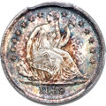 Seated Half Dimes, 1839 H10C No Drapery MS67+ PCGS....