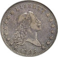 Early Half Dollars, 1795 50C 2 Leaves, O-119, T-1, R.4, VF25 PCGS. CAC....