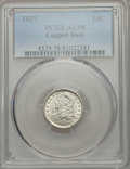 Bust Dimes: , 1837 10C AU58 PCGS. PCGS Population (23/51). NGC Census: (14/81).Mintage: 359,500. CDN Wsl. Price for problem free NGC/PCG...