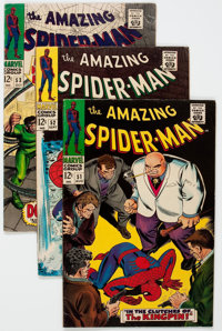 The Amazing Spider-Man Group of 47 (Marvel, 1967-71) Condition: Average VG/FN.... (Total: 47 Comic Books)