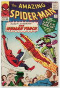 Silver Age (1956-1969):Superhero, The Amazing Spider-Man #17 (Marvel, 1964) Condition: VG....