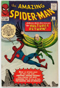 Silver Age (1956-1969):Superhero, The Amazing Spider-Man #7 (Marvel, 1963) Condition: VG-....