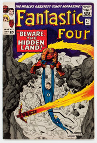 Fantastic Four #47 (Marvel, 1966) Condition: FN/VF