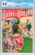 Golden Age (1938-1955):Adventure, The Brave and the Bold #1 (DC, 1955) CGC VG 4.0 Off-white to white pages....