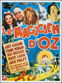 """The Wizard of Oz (MGM, R-1989). French Grande (46.5"""" X 62.25""""). Fantasy"""