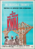"Movie Posters:War, The Bridge on the River Kwai (Columbia, R-1972). Italian 2 - Fogli(39.25"" X 55.25""). War.. ..."